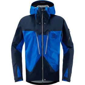 Haglöfs Spitz Jacket Herr storm blue/tarn blue